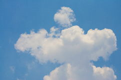 Sky and Cloud. On the bright Stock Photos