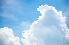 Sky and Cloud. On the bright Stock Photography