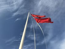 Sky, Cloud, Flag, Wind royalty free stock photography