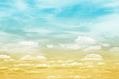 Sky Cloud Gradient Royalty Free Stock Image