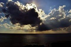 Sky, Cloud, Horizon, Sea royalty free stock image