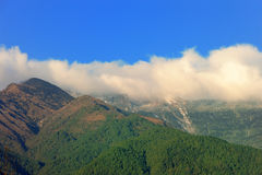 Sky cloud and mountain Stock Images