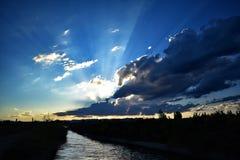 Sky, Cloud, Nature, Horizon stock image