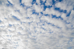 Sky and cloud scape background. Stock Photography