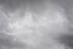 Sky and cloud storm background Royalty Free Stock Photo