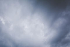 Sky and cloud storm background Royalty Free Stock Photography