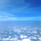 Sky Cloud Stratosphere Heaven Concept. Blue Sky Cloud Stratosphere Heaven Royalty Free Stock Photos
