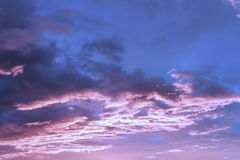 Sky and cloud before sunrise in the morning Royalty Free Stock Photo