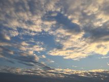 The sky and cloud. In Thailand Royalty Free Stock Images