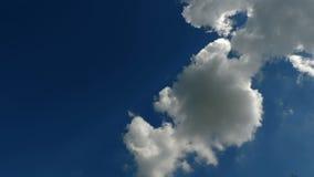 Sky cloud time lapse stock footage