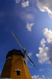 Sky cloud and windmill Royalty Free Stock Photo