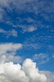 The sky with clouds. May be used as background Stock Photo