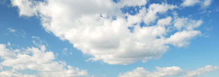 Sky with clouds Royalty Free Stock Images