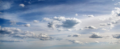 Sky with clouds. Stock Images