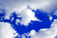 The sky and clouds royalty free stock photo