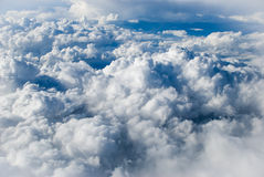 Sky with clouds. Blue Sky with white clouds Stock Photography