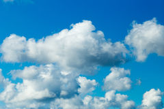 Sky clouds. Royalty Free Stock Images