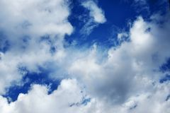 Sky clouds Stock Images