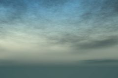 Sky and clouds. Sky and gray clouds - digital artwork Stock Photos