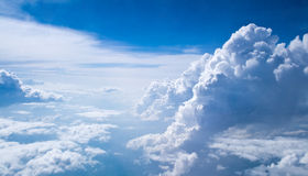Sky and clouds Stock Photography