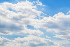 Sky in the clouds. The sky in the clouds Royalty Free Stock Image