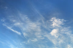 Sky in the clouds. The sky in the clouds Stock Image