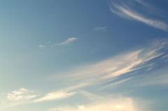 Sky in the clouds. The sky in the clouds Stock Photography