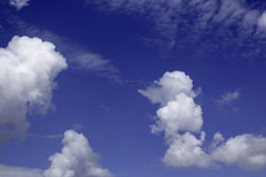 Sky with Clouds. Background Stock Photos