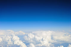 Sky and clouds background royalty free stock photos