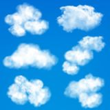 Sky clouds background Stock Photography