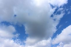 Sky with clouds background stock images