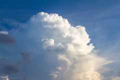 Sky-clouds background. Royalty Free Stock Photo