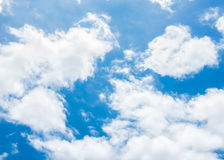 Sky and clouds. Background skylight blue Royalty Free Stock Photo