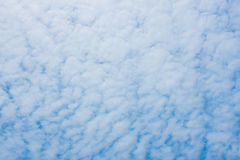 Sky and clouds. Background skylight blue Royalty Free Stock Photos