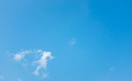 Sky and clouds. Background skylight blue Stock Photo