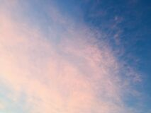 Sky and Clouds Background Texture royalty free stock photos