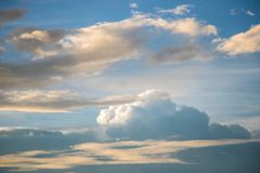 Sky clouds background Royalty Free Stock Photography