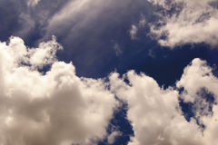 Sky and clouds. The background sky and clouds are very beautiful Royalty Free Stock Image