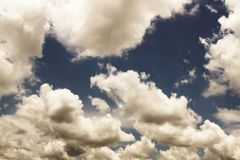 Sky and clouds. The background sky and clouds are very beautiful Stock Images