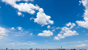 Sky Clouds. At Bangkok, Thailand Royalty Free Stock Photos