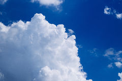 Sky with clouds Stock Photos