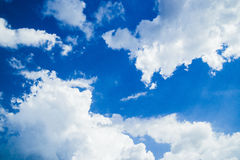 Sky with clouds Royalty Free Stock Image