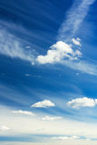 Sky with clouds Royalty Free Stock Photos