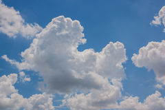 Sky with clouds. Royalty Free Stock Photography