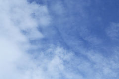 Sky and clouds. Blue sky Stock Images