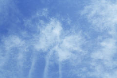 Sky and clouds. Royalty Free Stock Images