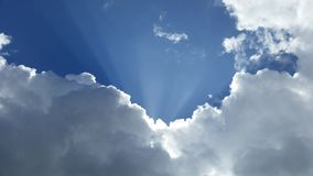 Sky Clouds Blue Royalty Free Stock Images