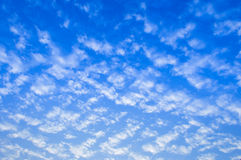 Sky with clouds. Clouds with Blue Sky Background Stock Photos
