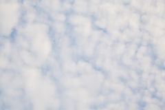 Sky with clouds. Blue sky background with clouds royalty free stock image