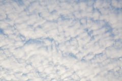 Sky with clouds. Blue sky background with clouds Stock Photos